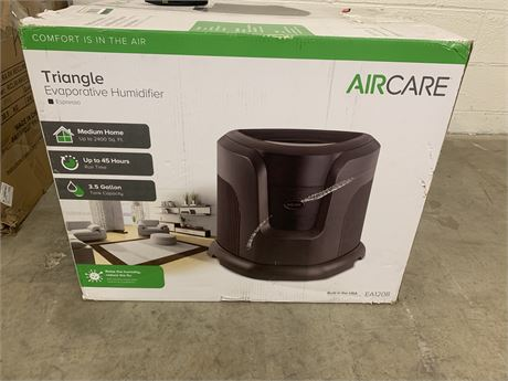 AirCare Triangle Evaporative Humidifier- New in Box