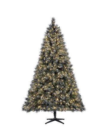 Home Accents Holiday 7.5 ft Sparkling Amelia Pine LED Pre-Lit Artificial Christm