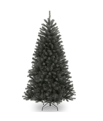 National Tree Company 7 ft. North Valley Black Spruce Hinged Tree